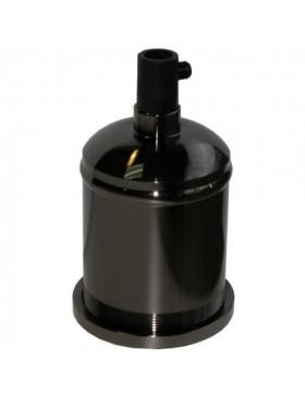 Φωτιστικό κρεμαστό κυκλικό μεταλλικό με δύο εγκοπές