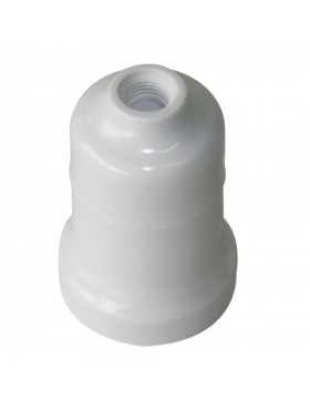 Ντουί βακελίτου Ε27 λευκό