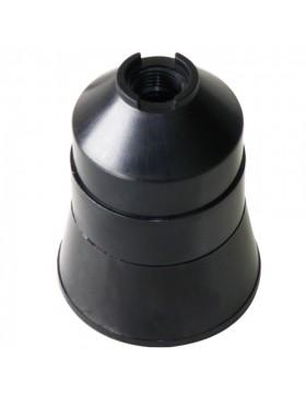 Ντουί θερμοπλαστικό Ε27 μαύρο