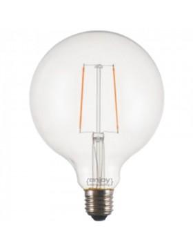 Λάμπα LED Β35 κερί 5,4W E14 2700Κ διάφανη