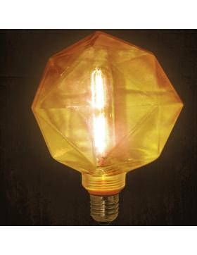 Λάμπα LED P45 σφαιρική 3,4W E27 2700Κ διάφανη